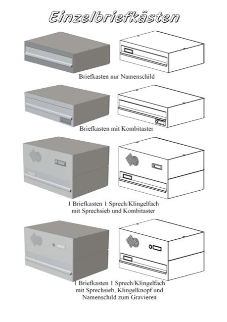 briefkastenvariationen | bilz ziermauerfix, Garten ideen